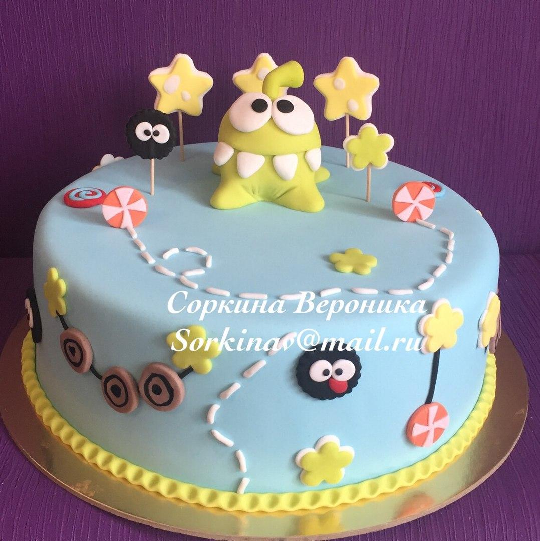 Как сделать детский торт с фигурками