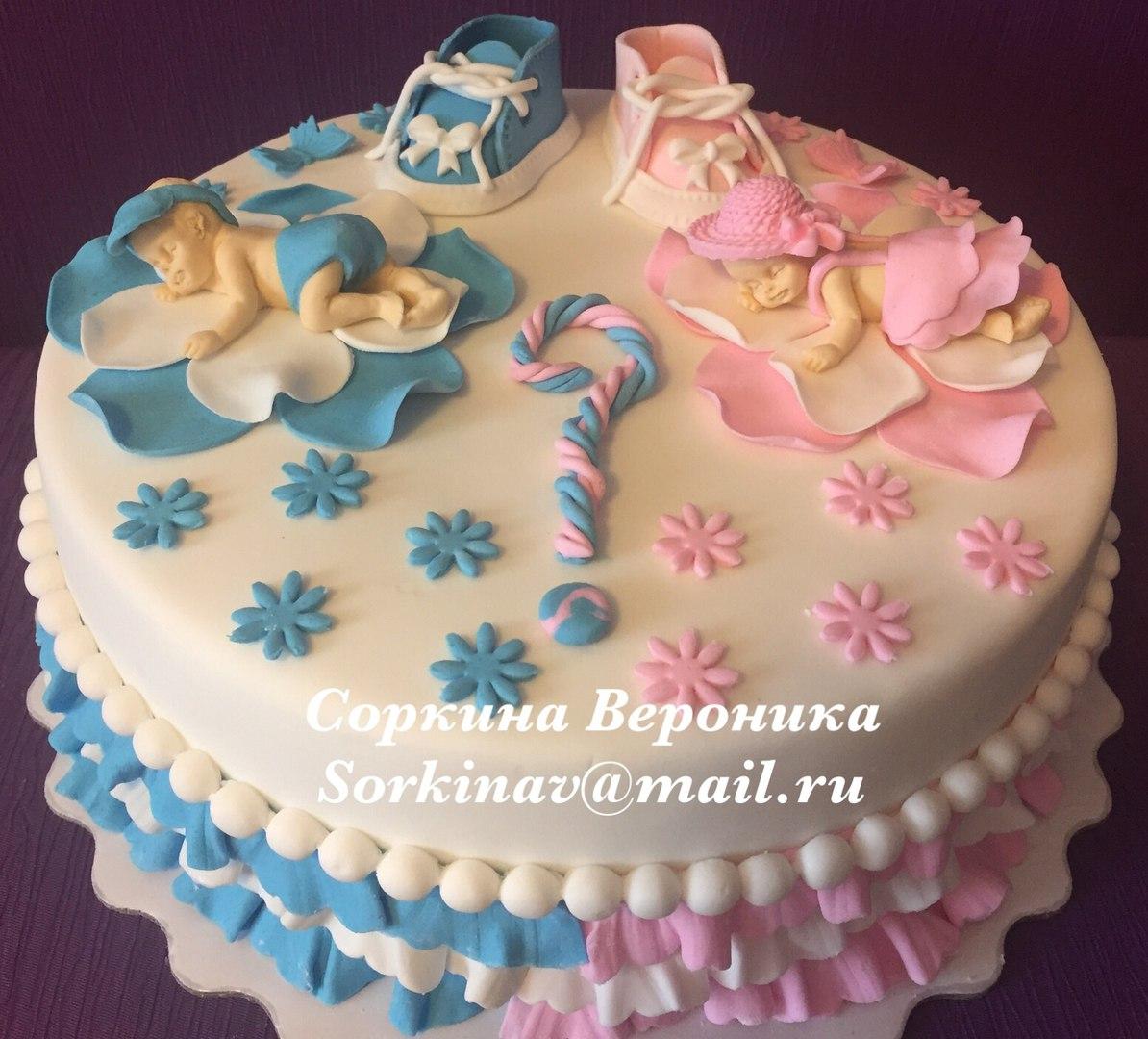 Торт пол ребенка фото